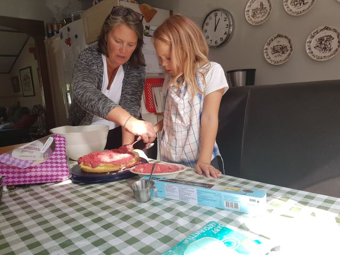 jenny och mamma tårta
