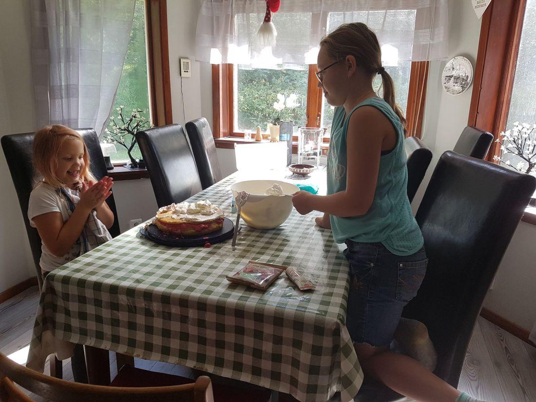 jenny och sagah tårt