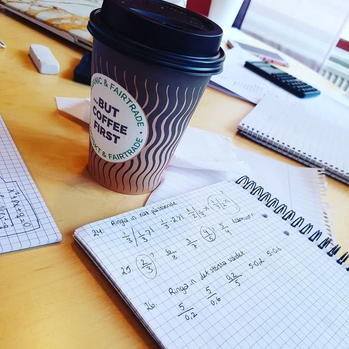 kaffe och matte