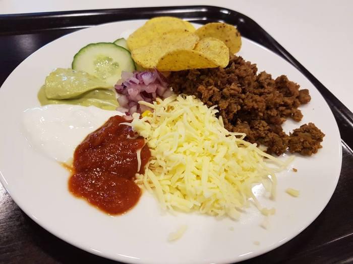 taco tallrik